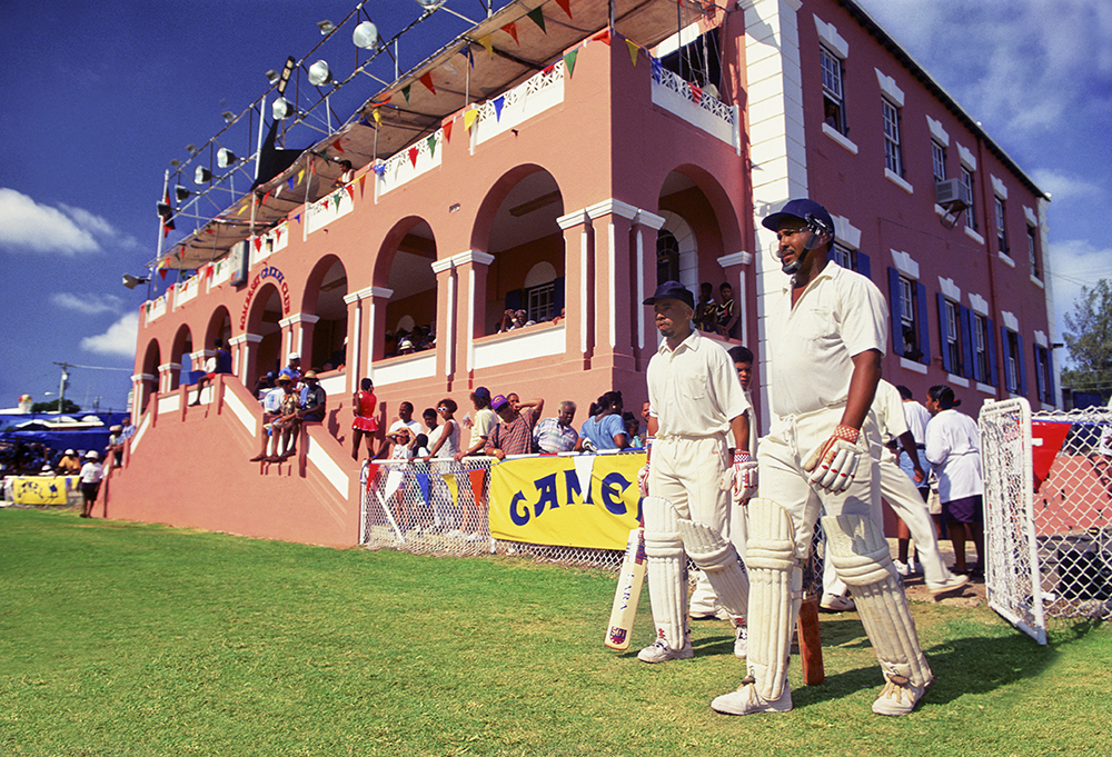 Cupmatch is Bermuda's world series of Cricket. The island is virtually shut down for two days for Cupmatch. Somerset, Bermuda.