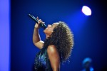 Alicia Keys performs at the iHeart Radio Music Festival at the MGM Grand, Las Vegas, NV