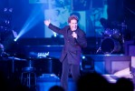 Clint Holmes performs in the Clint Holmes Theater in Las Vegas