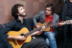 Backstage with Flight of the Conchords in NYC