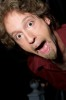 Josh Blue backstage in NYC