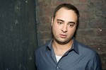 Kurt Metzger backstage in NYC