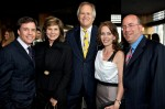 Bob Costas, Susan Saint James, Dick Ebersol, Jill Sutton, Jeff Zucker