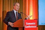 Mayor Michael Bloomberg keynotes an Economist Conferences event in NYC