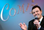 Family Guy creator Seth MacFarlane entertains at Comix in NYC