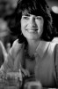 Christiane Amanpour enjoys table conversation at the Fortune Most Powerful Women dinner