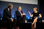Katie Couric interviews CBS CEO Les Moonves and Time Warner CEO Jeff Bewkes at The Paley Center for Media