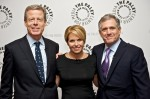 Katie Couric, Les Moonves, Jeff Bewkes