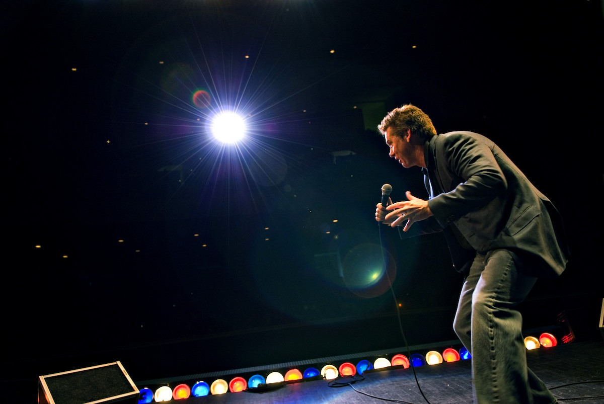 Comedian Brian Regan performs in Idaho Falls