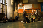 Homeless and unemployed gather at a labor center where people come to look for scarce jobs January, 2009 in Osaka, Japan.