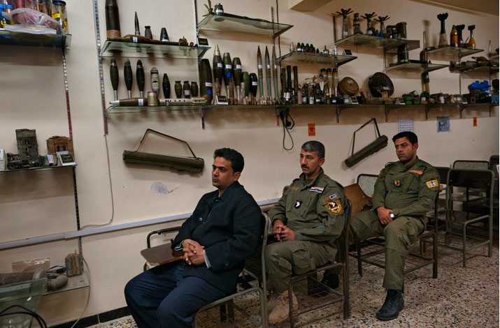 Iraqi soldiers and police now receive mandatory training to identify and defuse explosives.