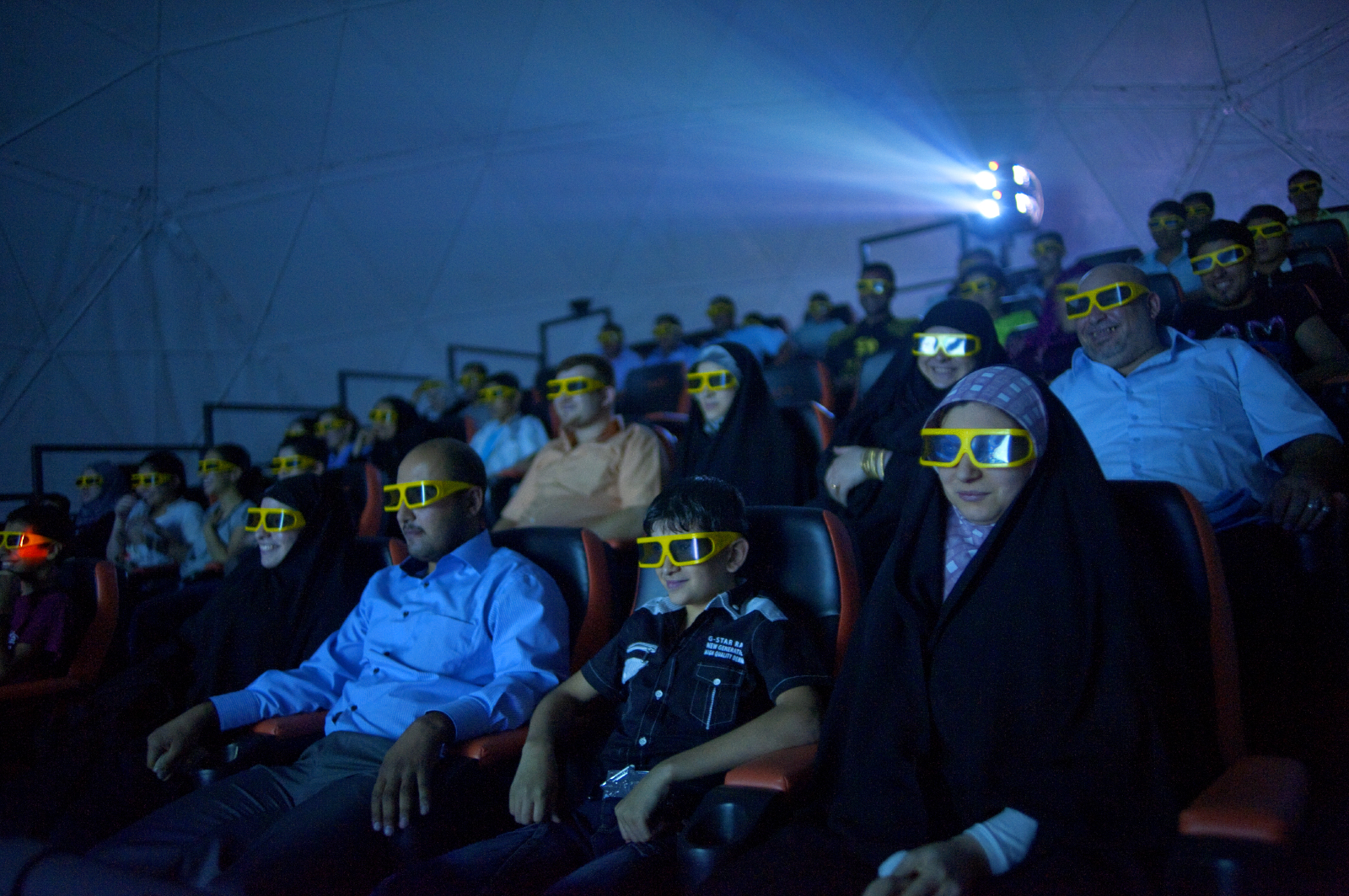 Baghdad's first, 4D theater at amusement park, need name.Contact info:Sarah Mustafa: sarah_wdmm@yahoo.com. cell: +9647904894828Yousif al Tamimi, my other translatorCell: +964770791895 Email: iyousif_altimimi@yahoo.com