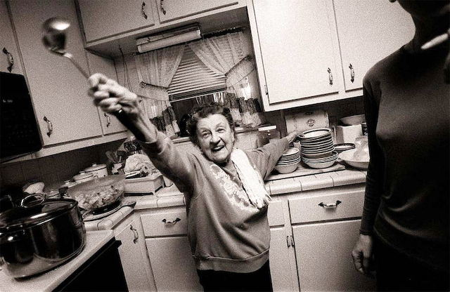 My grandmother, Nonnie. 1999.