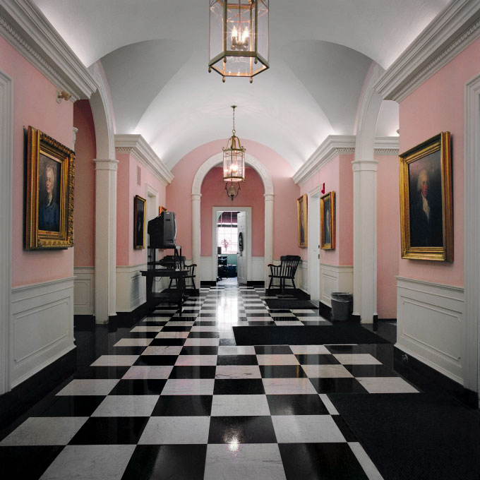Bulfinch Hall Lobby, Phillips Academy, Andover