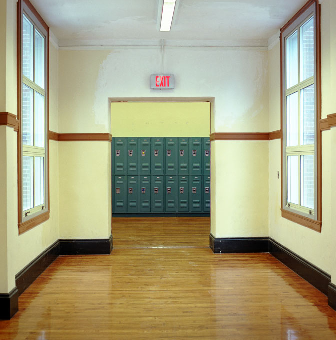 Hallway, Brighton, Massachusetts