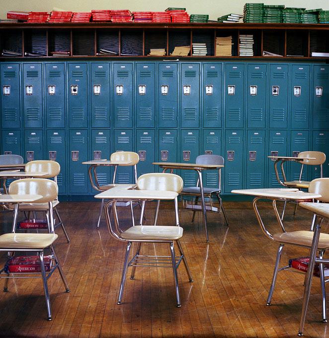 Classroom, Edison School, Brighton, Massachusetts