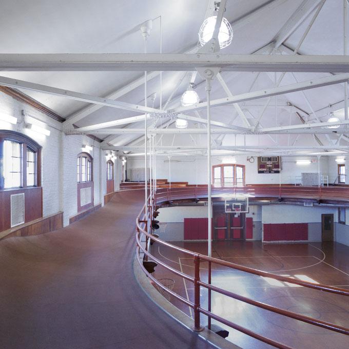 Gym, Worcester Academy