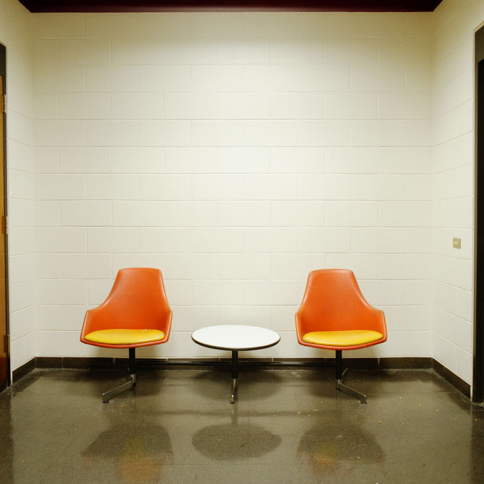 Hall Chairs. Bunker Hill Community College