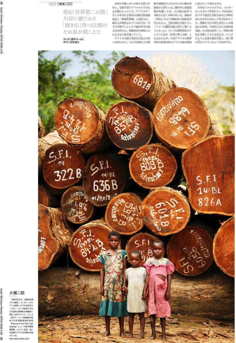 AERA (Japan) - Illegal Timber in Congo