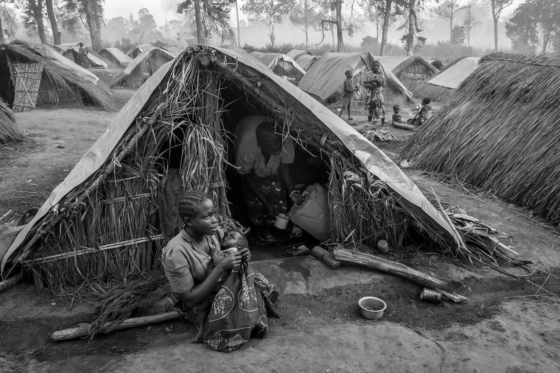 IDP camp in the Village of Gety, 60km southwest of Bunia, regional capital of Ituri region in eastern DR Congo.