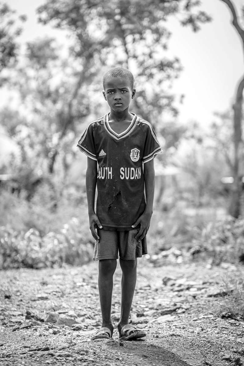 A boy named Dor in Bidibidi refugee settlement in Yumbe district, Northern Uganda 21 March 2017. © Jiro Ose