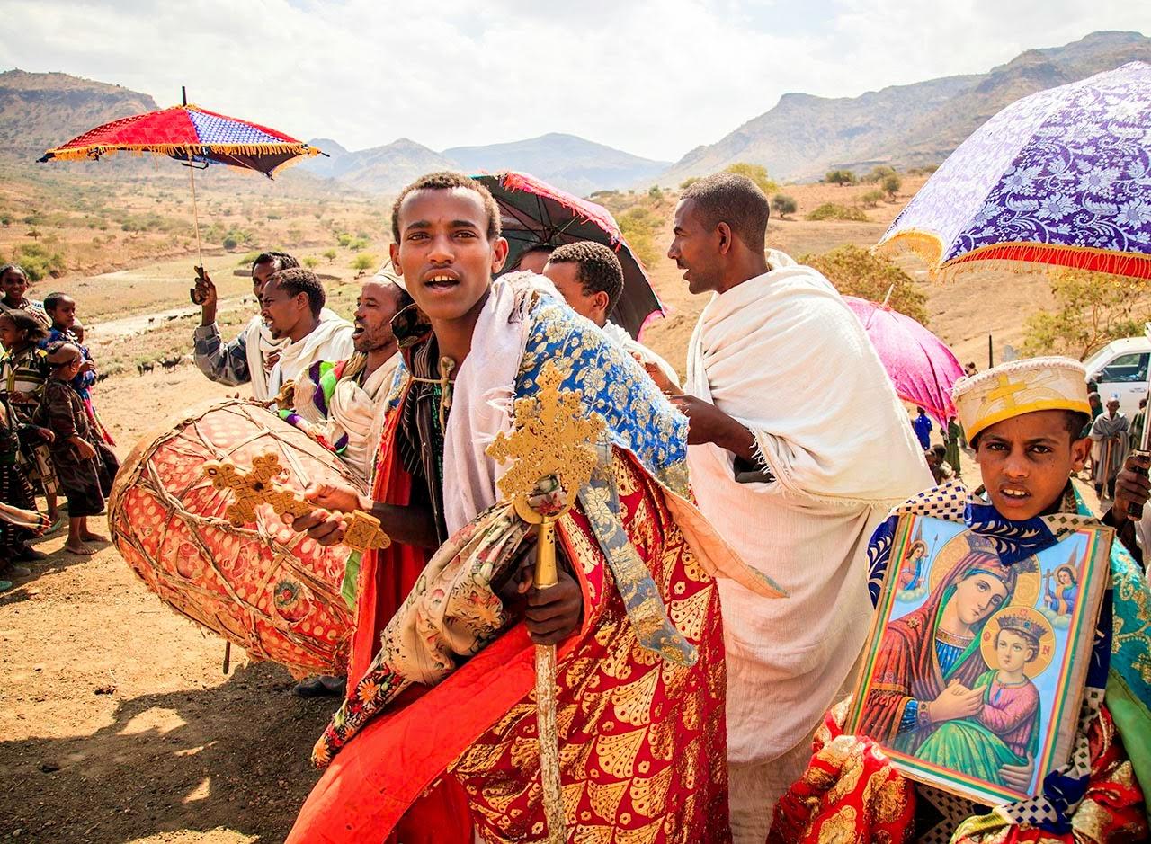 エチオピア:エチオピア旧教の儀式