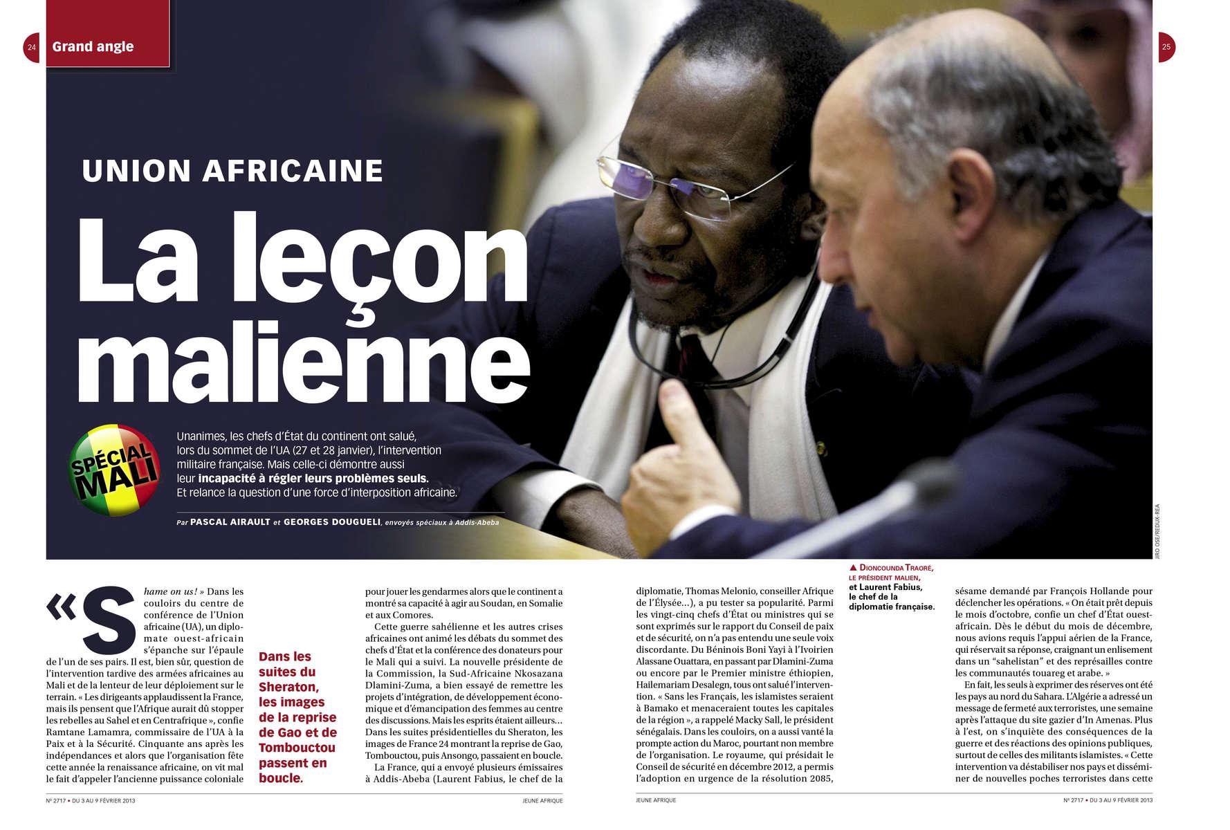 Jeune Afrique - African Union