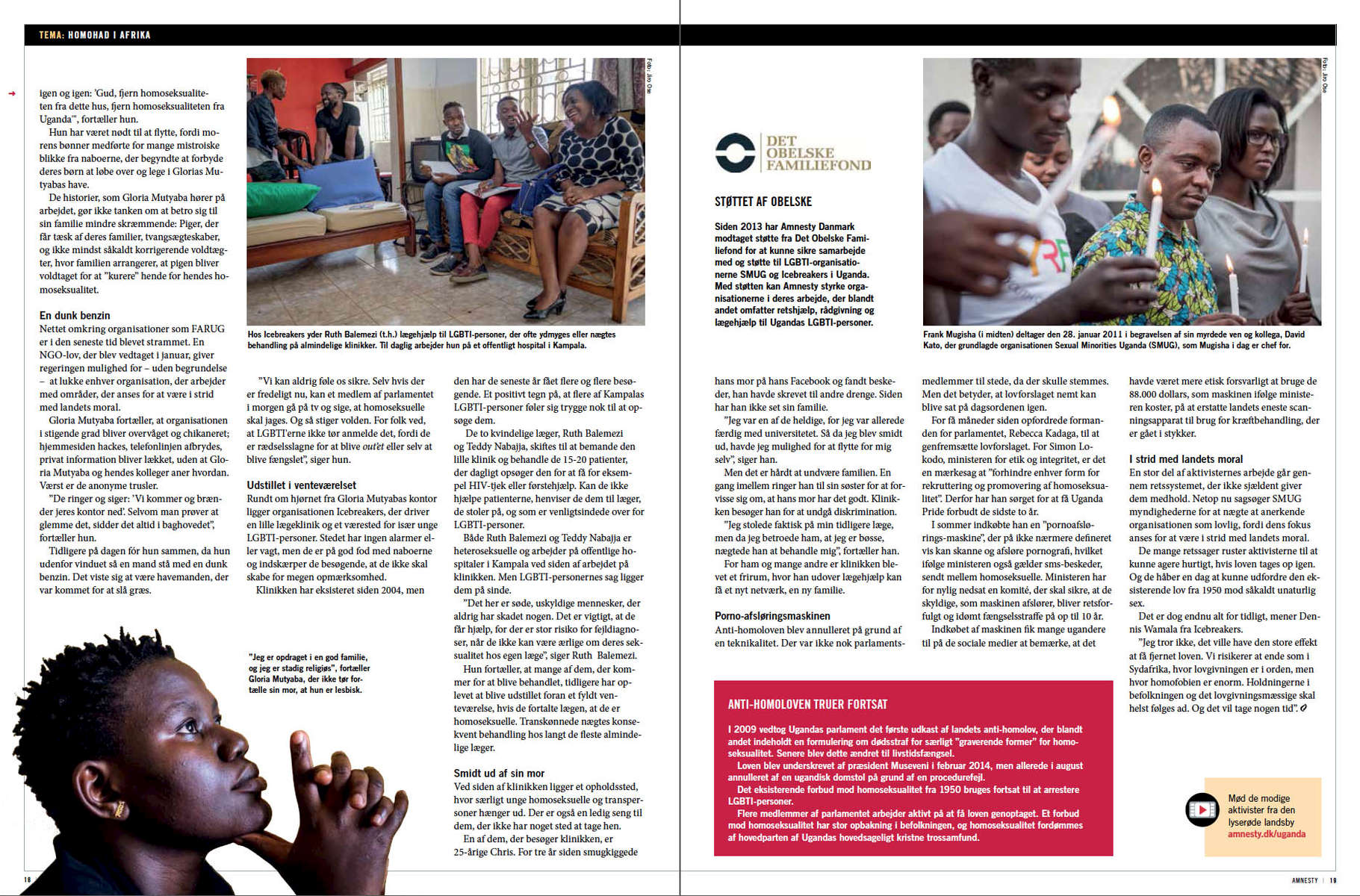 Amnesty International  - LGBT in Uganda - 03