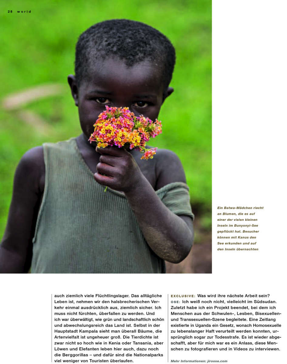 Lufthansa - Mountain Forrest in Uganda 07