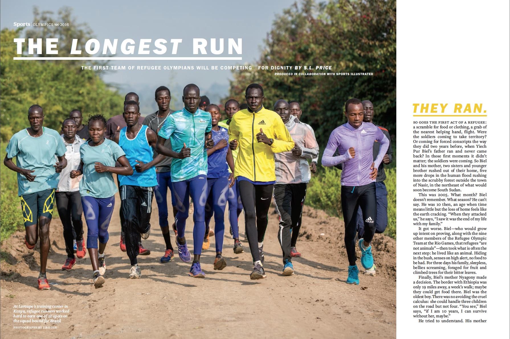 Time Magazine - Refugee Olympians