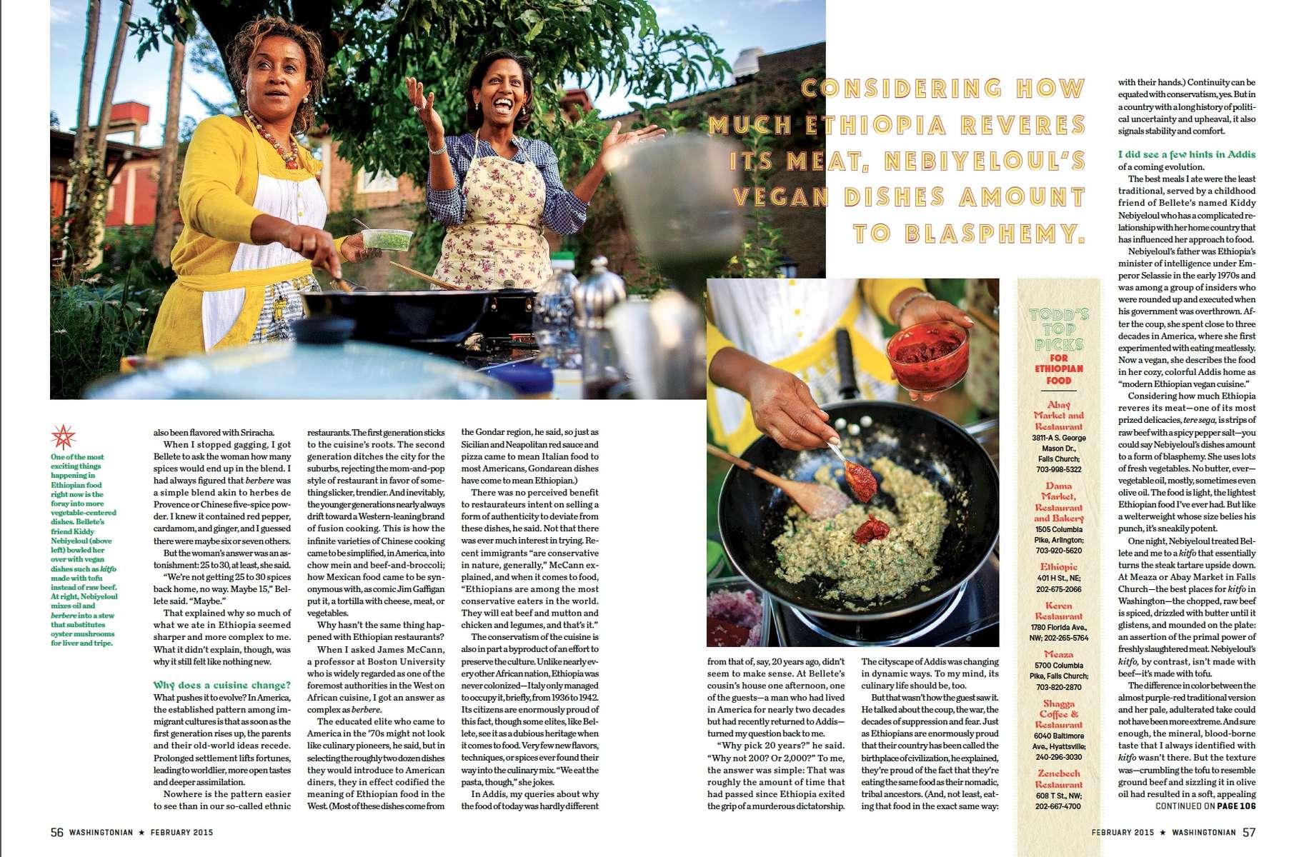 Washigntonian - Ethiopian Cuisine 03