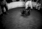 Cock fighting in Rio Caguan town , Southern Colombia 2001