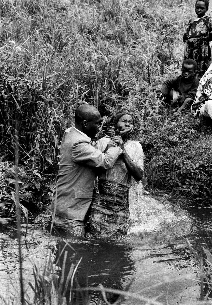 Baptism, Lubero, DRCongo 2001