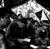 FARC counterespionage jungle classroom, Rio Caguan region, Colombia, 2001