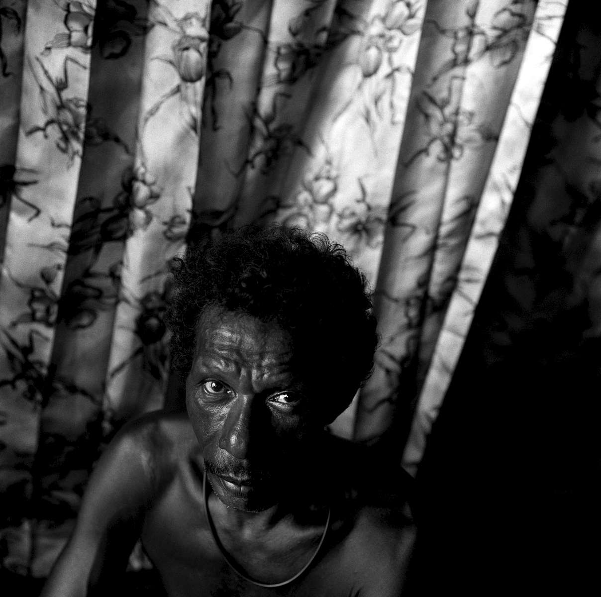 Portrait of Waigeo fisherman, West Papua, Indonesia 2003