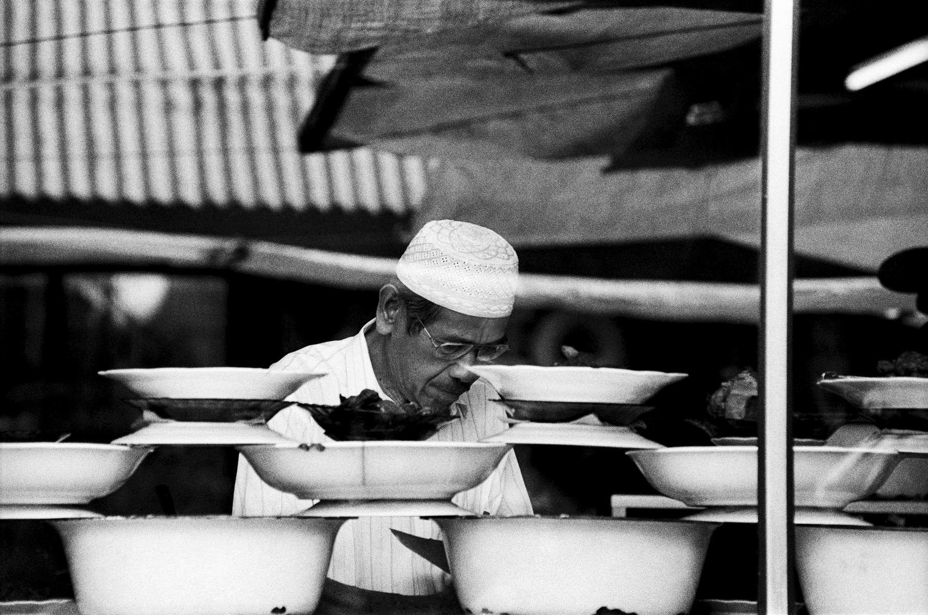 Padang restaurant owner, Sumatra 2003