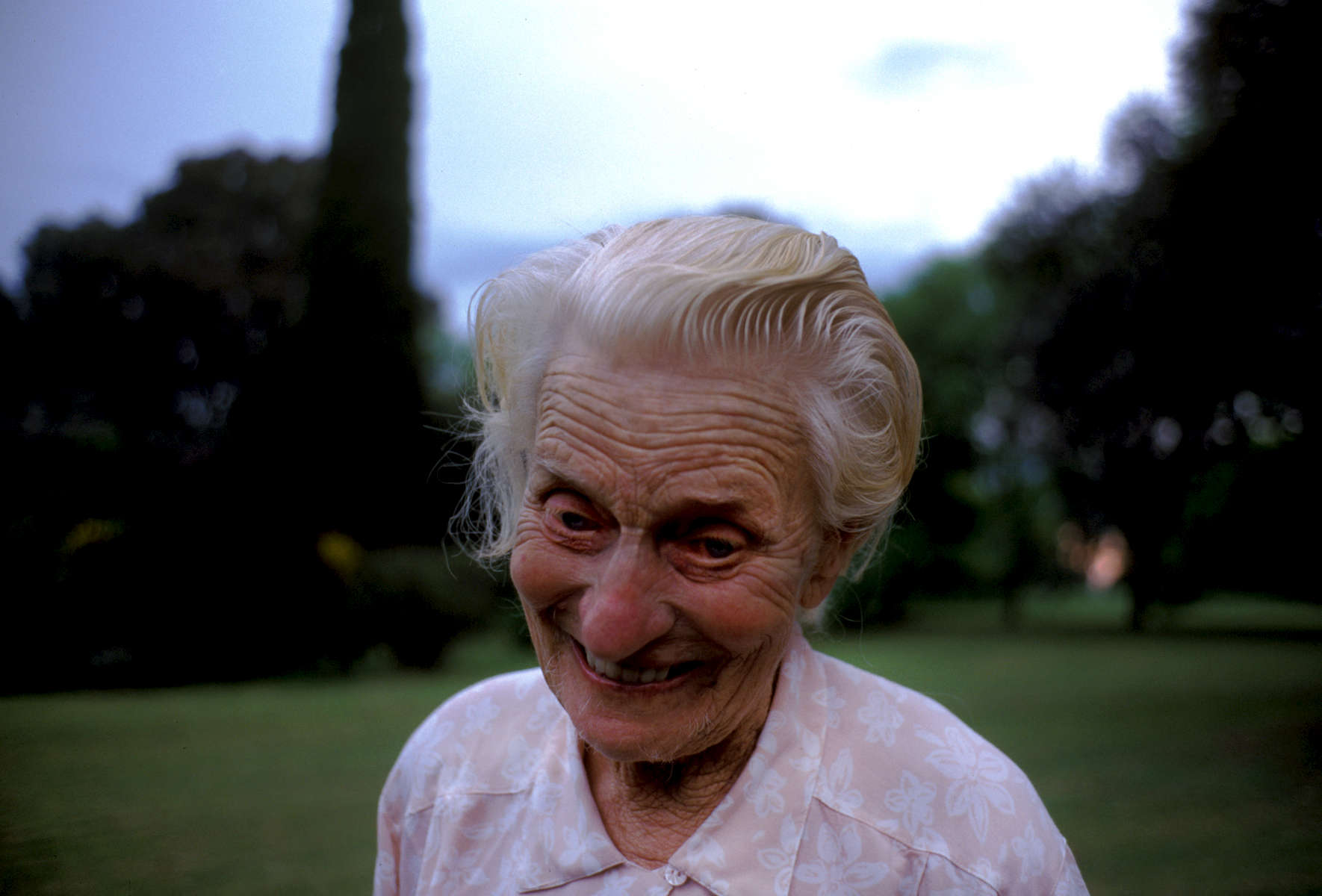 Amy Dunn, 86 yr. old German-Welsh descent Estancia owner in La Pampa, Argentina. 1997