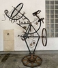 Classic 1905 Swiss Army mountain bike transformed with a mix of found industrial pieces limited edition 1/1$8000