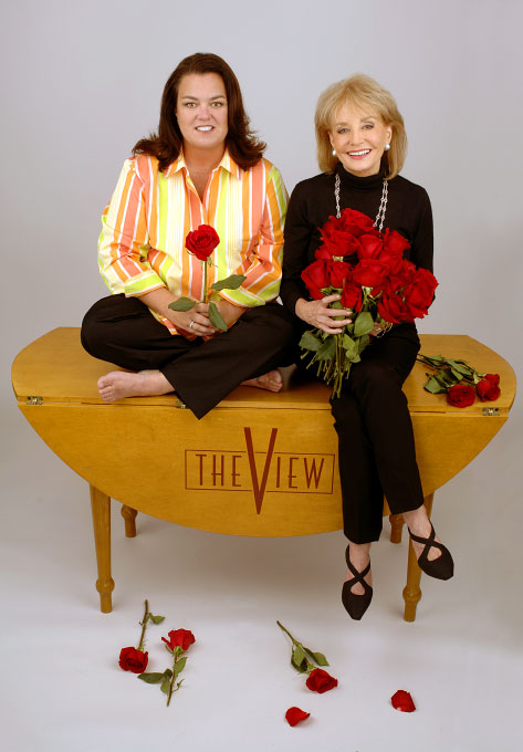 Rosie O'Donnell & Barbara Walters