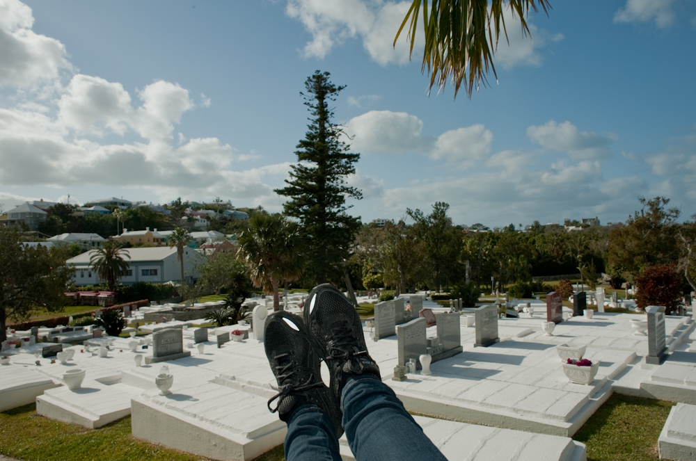 Bermuda cemetary 2012