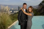 David and Victoria Beckham in Los Angeles