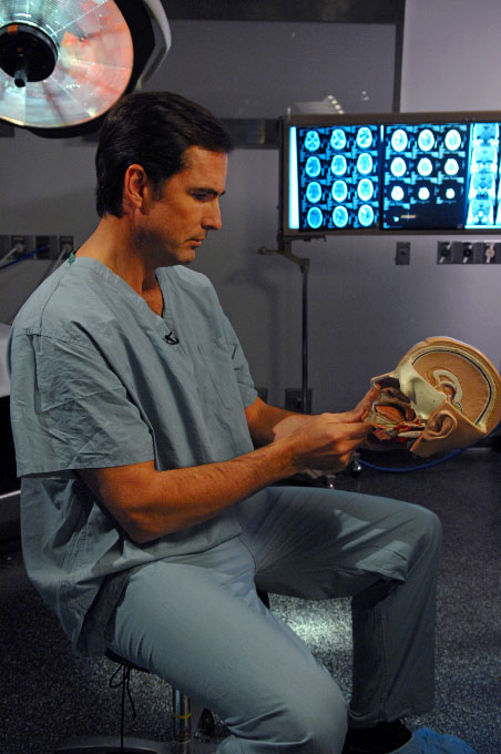 Bob Woodruff, who endured Traumatic Brain Injury due to an IED attack in Iraq