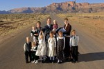 Hammon Family in Colorado City- Arizona, for a story on Polygamy.
