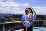 Mike Whatoname at Skywalk Grand Canyon West
