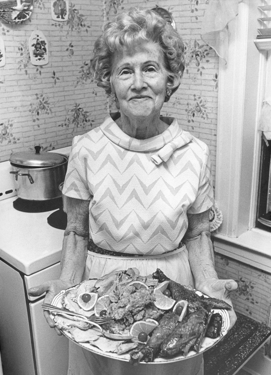 "Thanksgiving was always at Grandma Jenny's house in Brooklyn. Jenny was a very humble and dear woman, known for a lot of pithy sayings. My favorite was, ""Da mens only vant von ting, don't give it to dem!"""