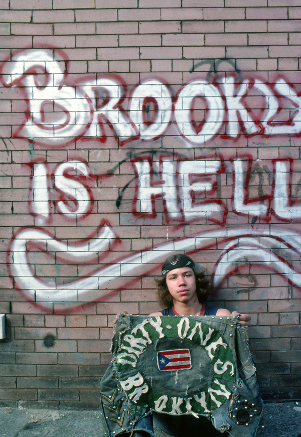 This was a prevalent sentiment in the  1970's & 1980's. It was a time before gentrification and hipsters. It was a very different Brooklyn - especially Sunset Park.