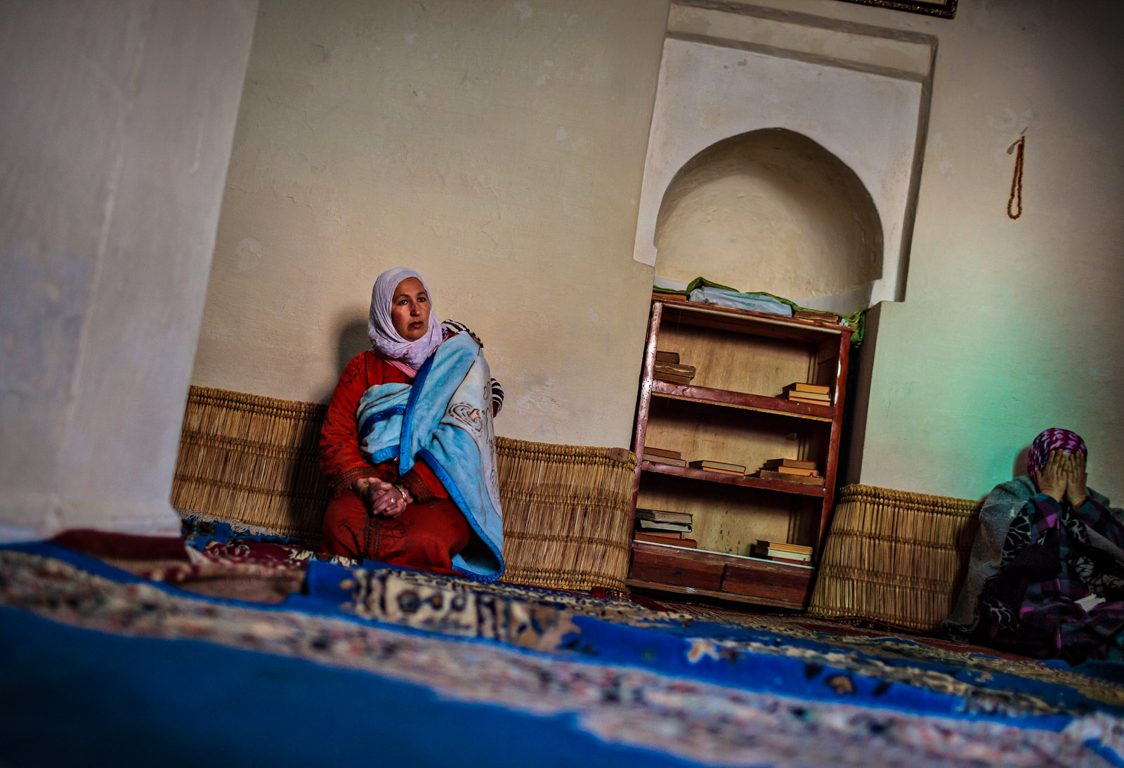 Prayer room, MoroccoPhotograph by Jesse Neider