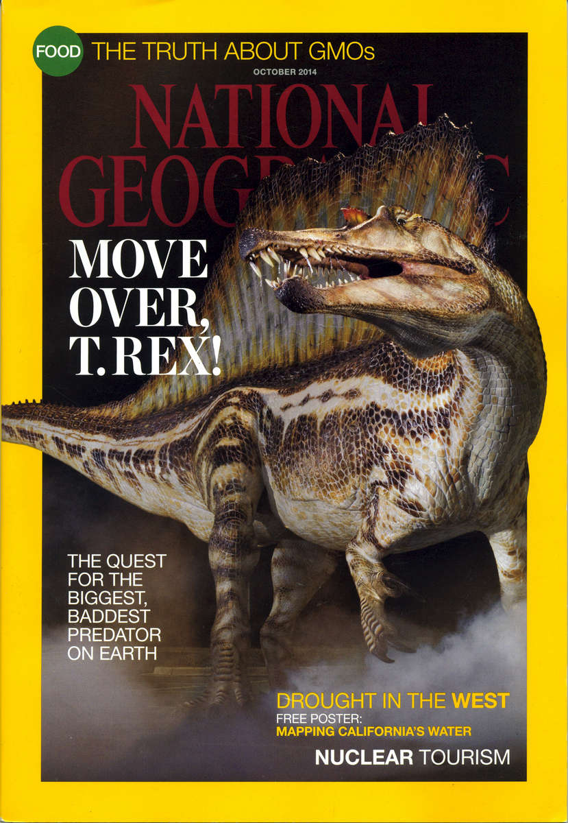 Spinosaur Cover Story