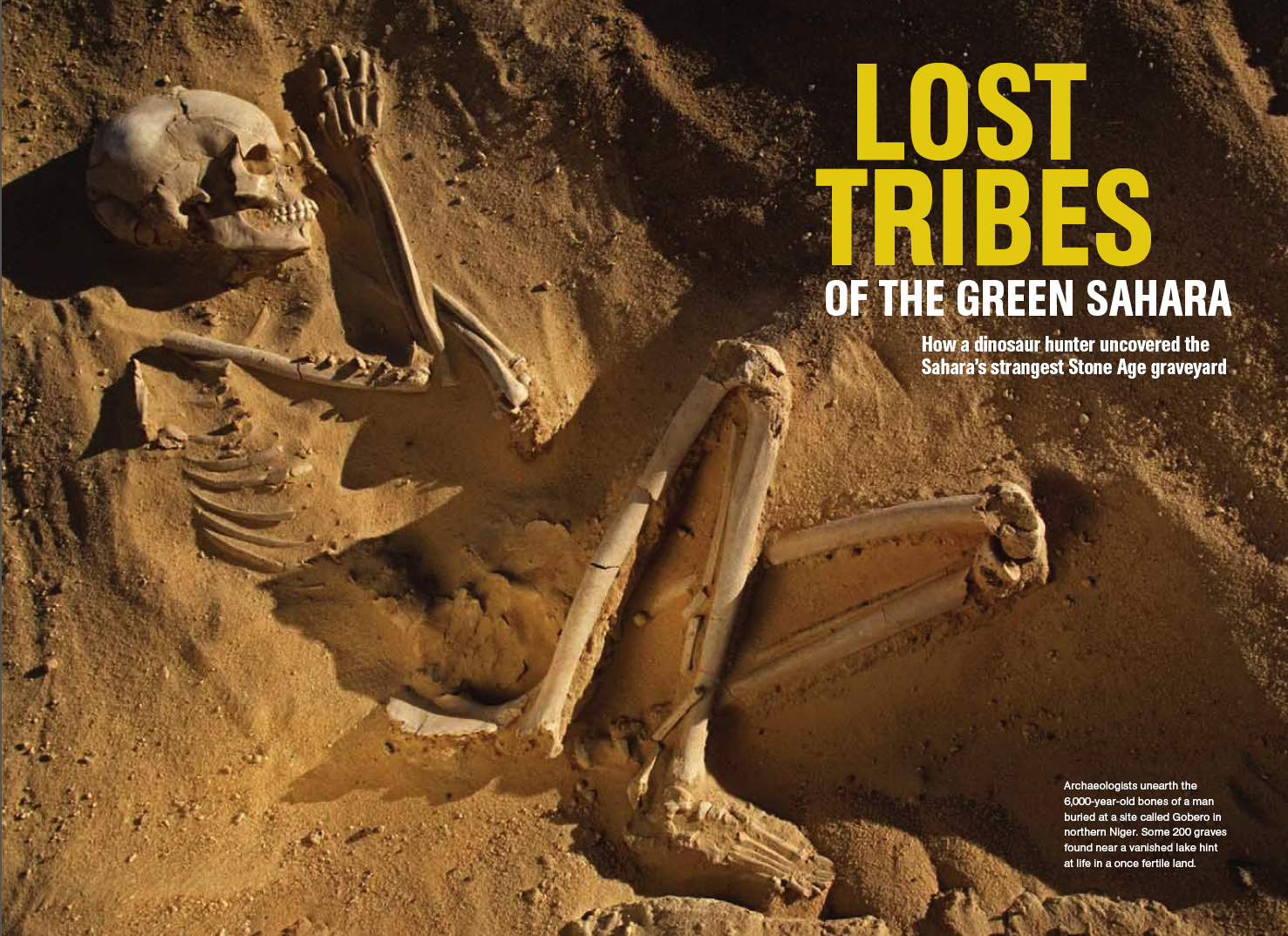 Green Sahara Archeology Story (Link)