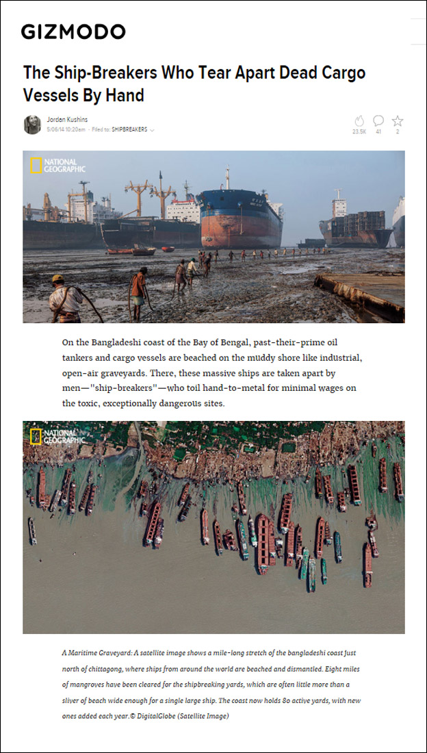 Tear-Sheet---Gizmodo---Bangladesh-ship-breakers---2016